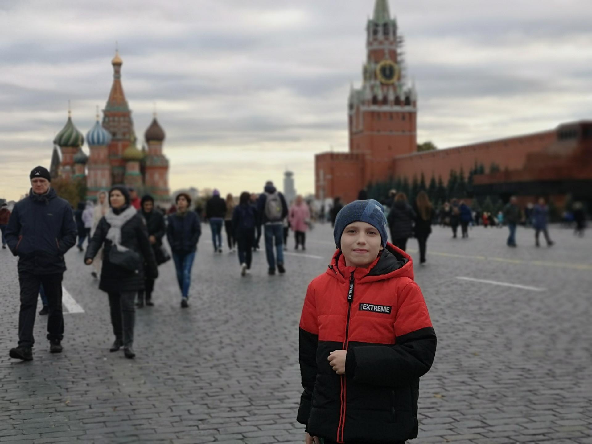 Саша в Москве. Сентябрь 2020 года